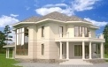 Architectural bureau LAND & HOME Construction Elizabeth Ready-Made Classical Style Two-Story Home Plan