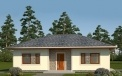 Standard one-story Eco Light house project architectural company LAND & HOME Construction