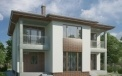 Ready-made modern project of a two-story Toulon house engineering studio LAND & HOME Construction