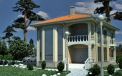 Ready-made project for a two-storey Vincent 2 house architectural studio LAND & HOME Construction